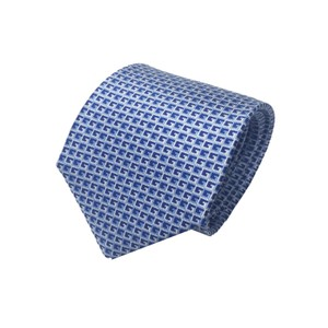 Gucci Gucci Men's Blue Geometric Necktie 349407