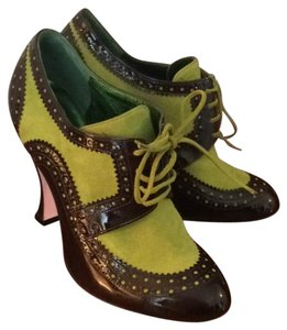 Christian Lacroix Green and black Boots