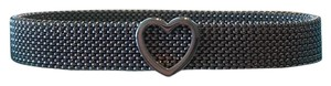 Tiffany & Co. Authentic Tiffany & Co. Mesh Somerset Bracelet with Heart Stainless Steel
