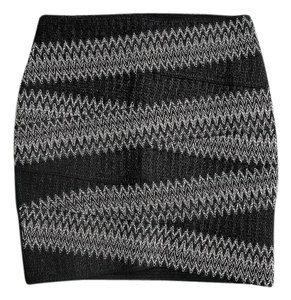 H&M Mini Skirt Black & White