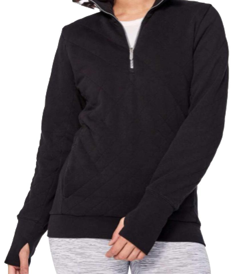 buy popular 1b0de c664a Lululemon Black Forever Warm Pullover - - Activewear Outerwear Size 2 (XS)  5% off retail
