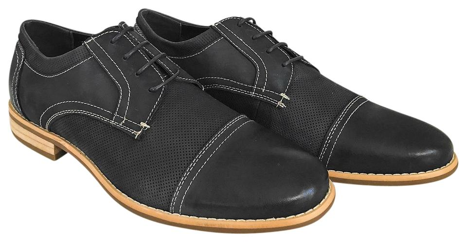 ac4bf21f886 Steve Madden Navy Blue Chays Nubuck Leather Casual Dress Oxford Formal  Shoes Size US 12 Regular (M, B) 40% off retail