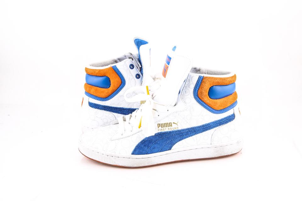 b3981f21ff Puma * White/Blue/Orange The Lottery No Mas High Top Sneakers  White/Blue/Orange Shoes 27% off retail