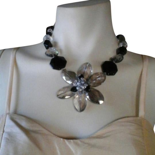 Other Flower Stone Statement Necklace