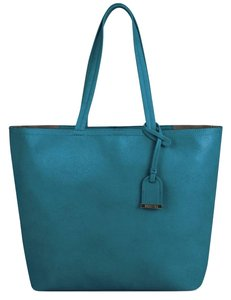 Kenneth Cole Reaction Large Soft Tote in Turquoise