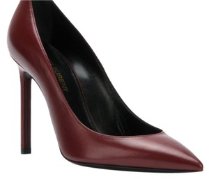 Saint Laurent Maroon burgundy like color Pumps