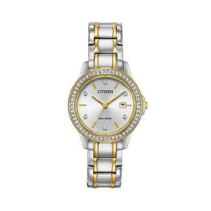 Citizen NWT Eco-drive Crystal Accent Women's Watch FE117450A