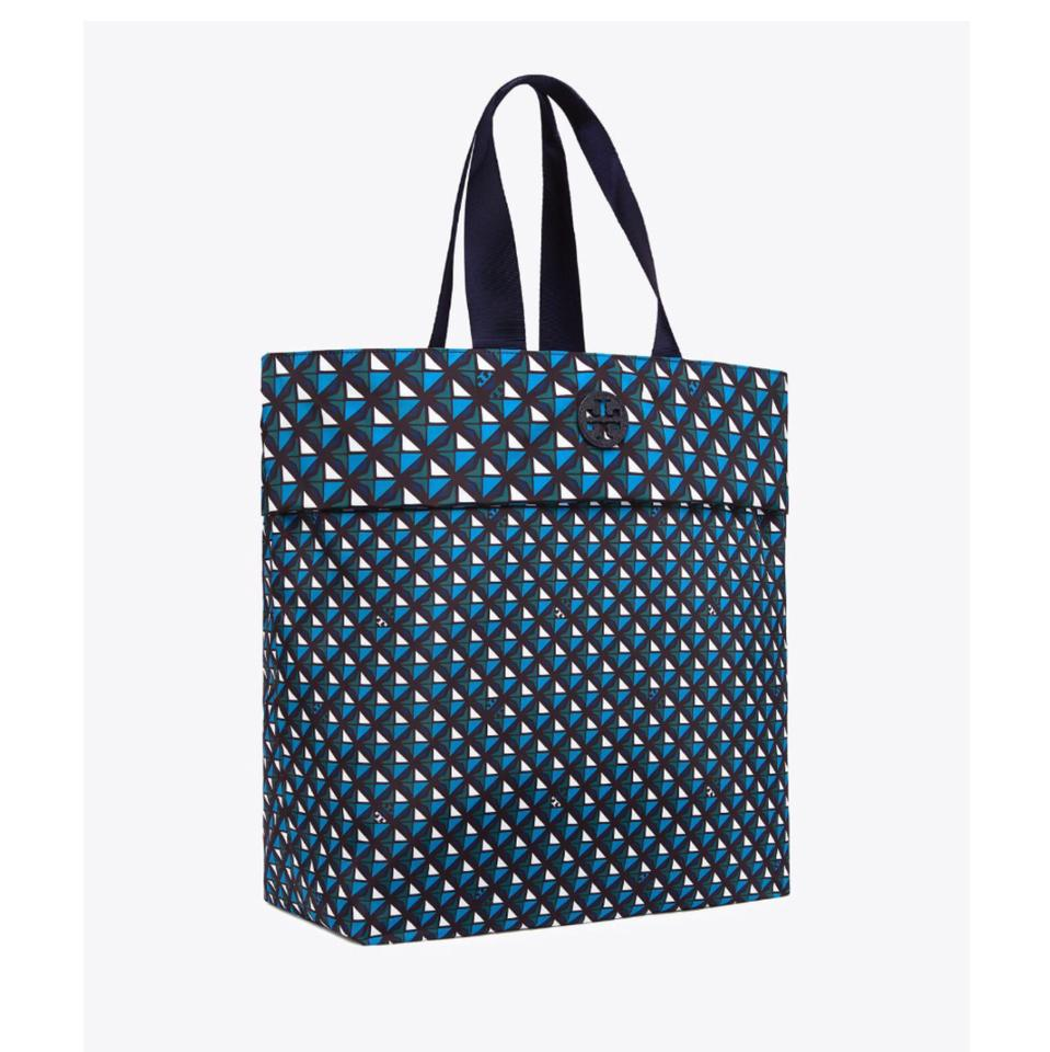 Navy Nylon Burch Tory Tote Packable wqpUUx
