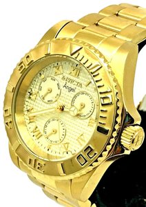 Invicta Invicta 17524 ngel Champagne Dial Gold Plated S\S Ladies Watch