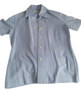 Lanvin Vintage Button Down Shirt chambray