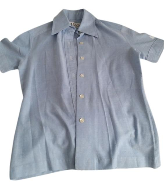 Preload https://item4.tradesy.com/images/lanvin-chambray-vintage-button-down-top-size-6-s-2325358-0-0.jpg?width=400&height=650