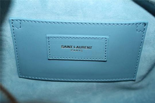 Saint Laurent Smooth Leather Soft Cross Body Bag