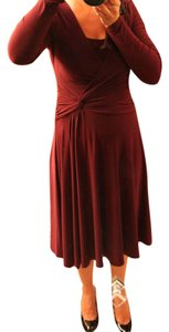 Burgundy Maxi Dress by Jones New York