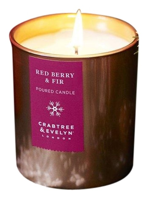 Item - Gold Berry Fir Poured Candle 200g Limited Edition
