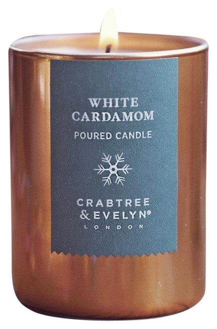 Item - Gold White Cardamom Poured Candle 200g Limited Edition