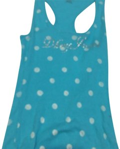Mandee Top blue and white