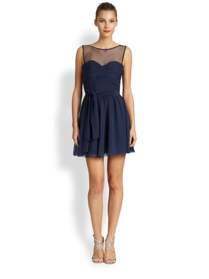 Bcbgmaxazria Sleeveless Flared Dress