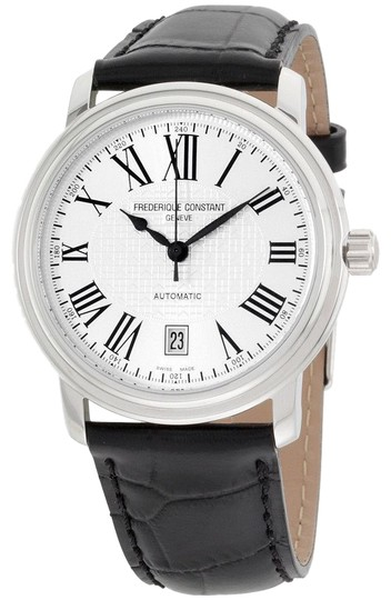 Preload https://img-static.tradesy.com/item/23254666/frederique-constant-silver-dial-leather-strap-men-s-fc303m4p6-watch-0-1-540-540.jpg