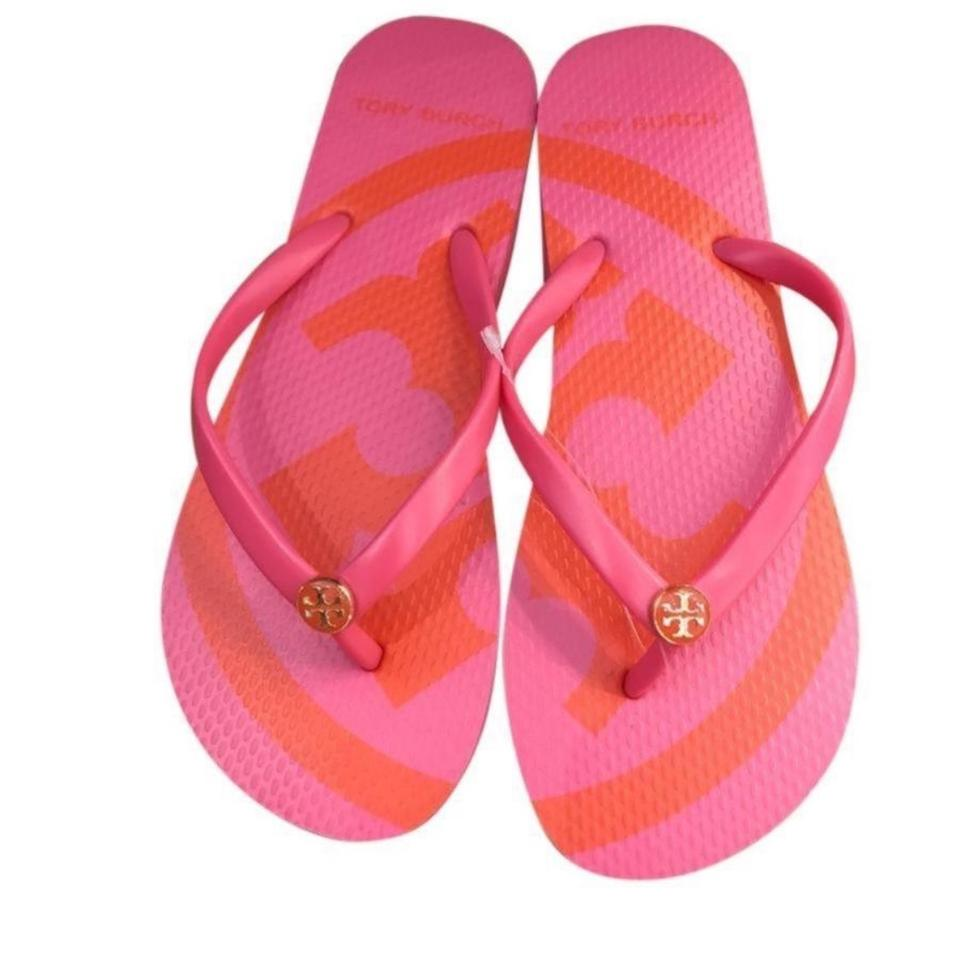 87e112829be79 Tory Burch Flip Flops Sandals Size US 9 Regular (M