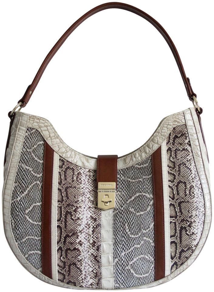 Brahmin Bethany Bag Oleta Limestone Medium Shoulder Leather 44rq0UH