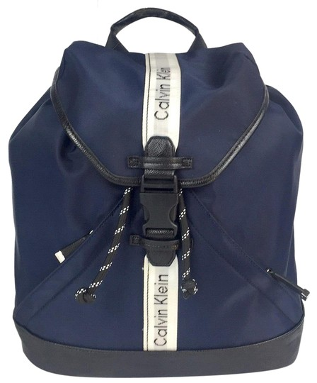 Preload https://img-static.tradesy.com/item/23254859/calvin-klein-new-women-s-flap-top-fashion-blue-nylon-backpack-0-1-540-540.jpg