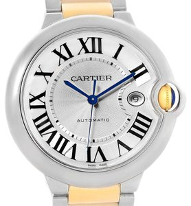 Cartier Cartier Ballon Bleu Steel 18K Yellow Gold Unisex Watch W69009Z3