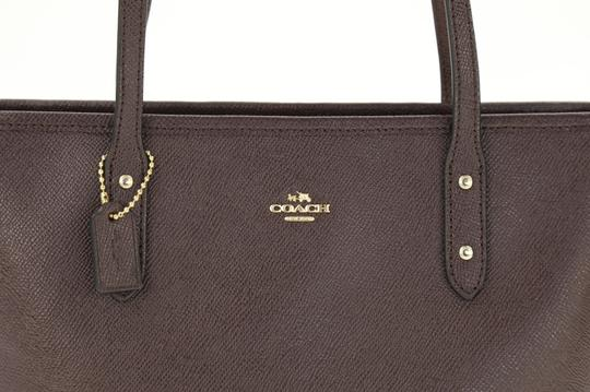 Coach Zip Top City City Tote in Purple