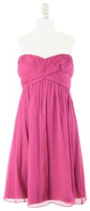 J.Crew Silk Chiffon Sweetheart Empire Waist Bridesmaid Dress