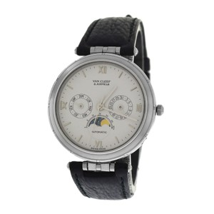 Van Cleef & Arpels Mens Unisex Van Cleef & Arpels La Collection Moonphase Day Date Automa