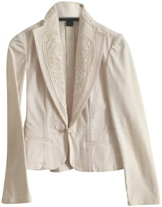 Ralph Lauren Black Label white Womens Jean Jacket