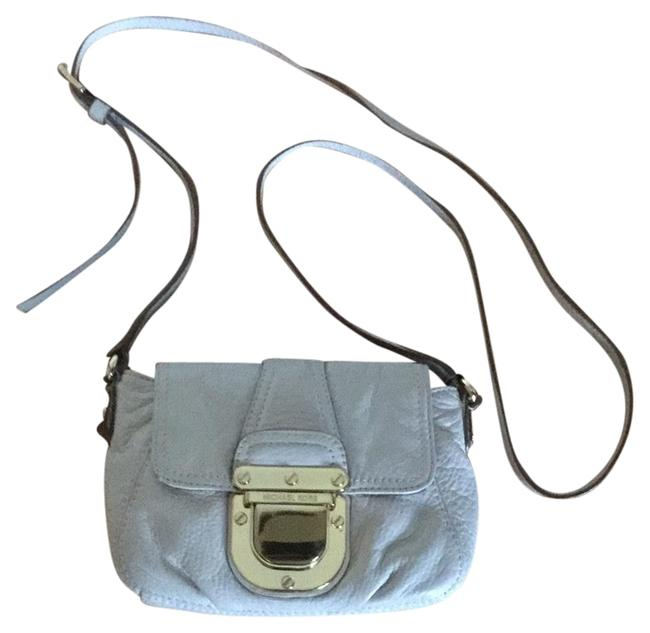 Item - Small Ivory Leather Cross Body Bag