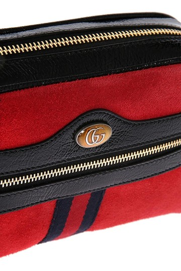 Gucci Ophidia Ophidia Suede Cross Body Bag