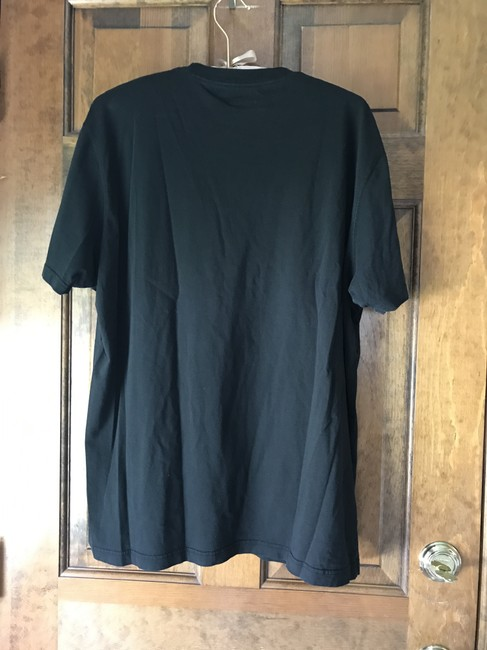 Express Cotton Sleeves Crew Neck Pocket 2 Tees T Shirt Red and Black