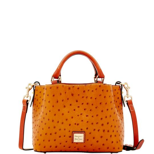 Preload https://img-static.tradesy.com/item/23255435/dooney-and-bourke-ostrich-mini-barlow-tan-leather-cross-body-bag-0-0-540-540.jpg