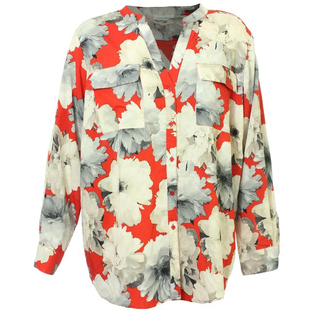 Preload https://img-static.tradesy.com/item/23255479/calvin-klein-multi-color-2x-floral-convertible-sleeve-shirt-button-down-top-size-20-plus-1x-0-0-650-650.jpg