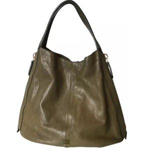 Givenchy Tinhan Shopper Tinhan Tote in Khaki Olive Green Lambskin