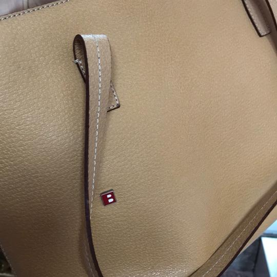 Bally Vintage Small Tote in Cream