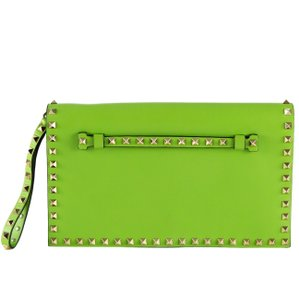 Valentino Green Clutch