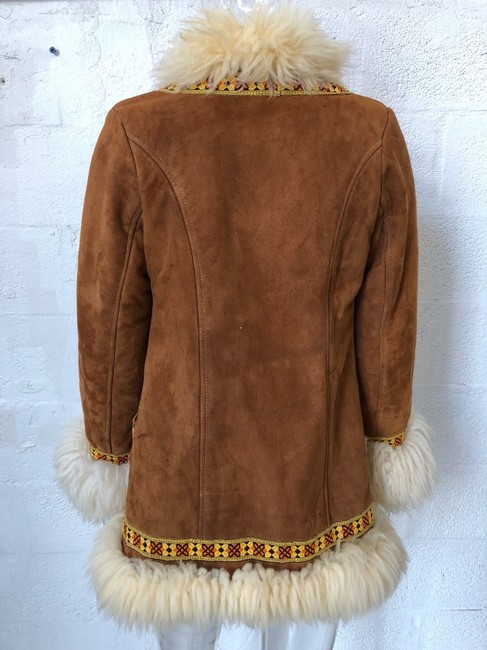 Unlabeled Vintage Suede Brown Jacket