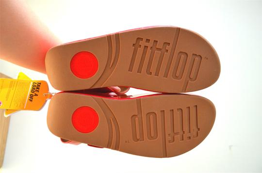 FitFlop Summer Casual Walking Pink Sandals