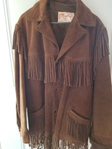 Excelled Brown Leather Jacket