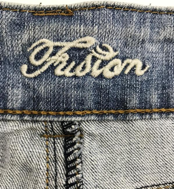 Fusion Jeans Junior Size 1 Distressed Skinny Jeans-Distressed