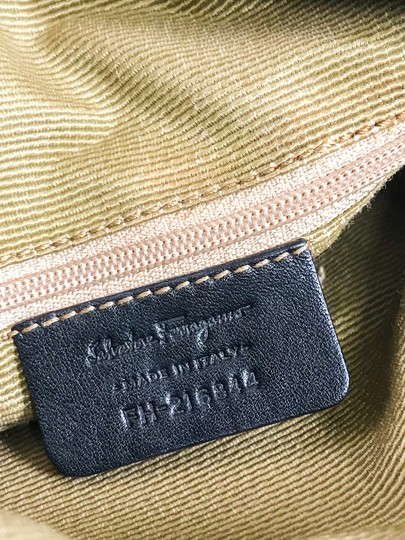 Salvatore Ferragamo Canvas Cross Body Bag