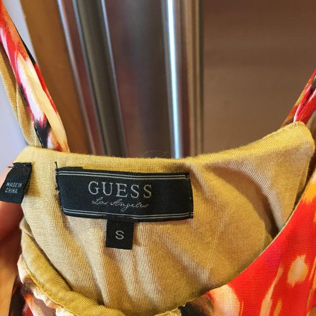 Red, pink, white Maxi Dress by Guess