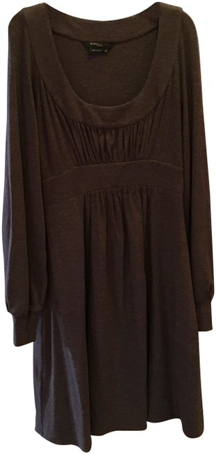 Preload https://img-static.tradesy.com/item/23255924/bcbgmaxazria-brown-long-sleeve-bcbg-mid-length-workoffice-dress-size-petite-4-s-0-3-650-650.jpg