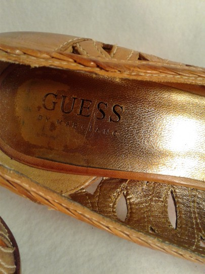 Guess Leather Weave BROWN Formal