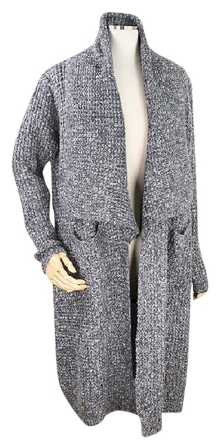 Preload https://img-static.tradesy.com/item/23256074/gray-knit-long-draped-sweater-duster-size-os-one-size-0-1-650-650.jpg