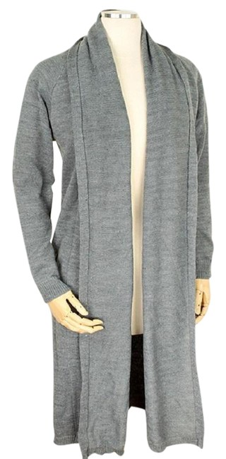 Preload https://img-static.tradesy.com/item/23256112/gray-soft-knit-long-draped-sweater-duster-cardigan-size-os-one-size-0-1-650-650.jpg