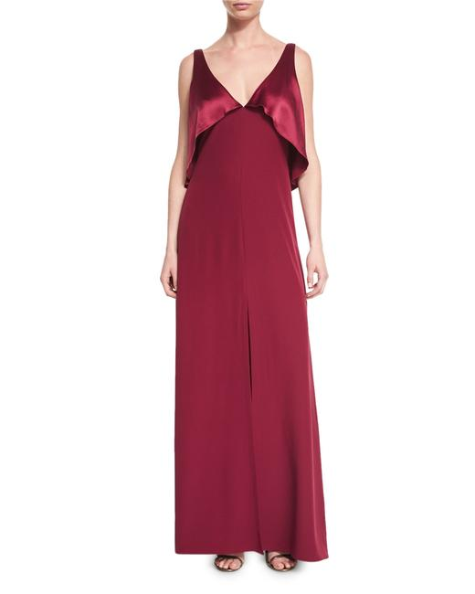 JILL JILL STUART Prom Maxi Long Red Dress