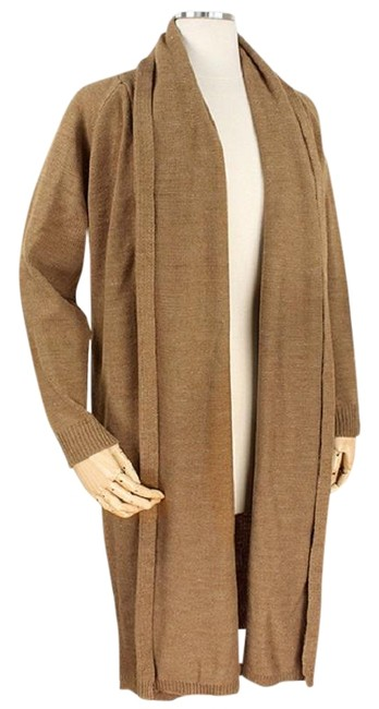 Preload https://img-static.tradesy.com/item/23256209/taupe-soft-knit-long-draped-sweater-duster-cardigan-size-os-one-size-0-1-650-650.jpg